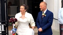 Couple raise money at their wedding to help cancer patients