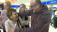 Family reunited for first time in 50 years after trans-Atlantic search