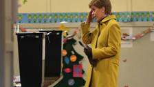 SNP tipped to win big but Sturgeon reacts to 'grim' UK result