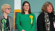 Swinson's bid to be 'next PM' ends with shock loss of seat
