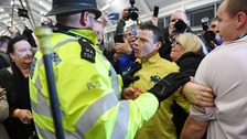 Police intervene as McDonnell is heckled at election count