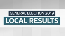 Election results for the North West of England