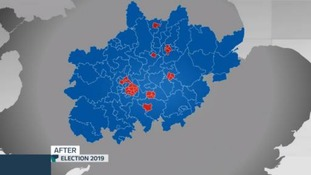 The new look election map of the Midlands