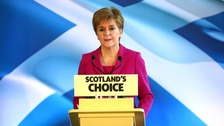 Nicola Sturgeon: Election result 'watershed moment' for Scotland