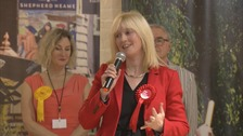 Rosie Duffield keeps hold of Canterbury seat against the odds