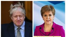 Johnson reiterates opposition to indyref2 in call with Sturgeon