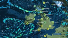 UK weather: Wet and windy across parts of Britain