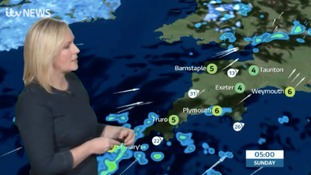 UK weather forecast: A chilly evening with blustery showers