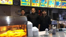 Cardiff chippy staying open on Christmas Day for the homeless