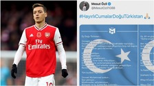 Ozil is 'blinded and misled' says China as state TV pulls match