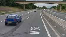 Police appeal after man dies in collision on M65