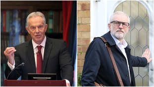 Tony Blair says Jeremy Corbyn turned Labour into a
