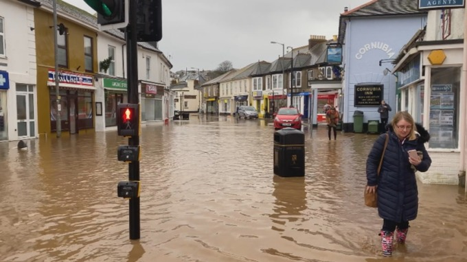 Clean Up Begins In Aftermath Of Major Incident As Flooding