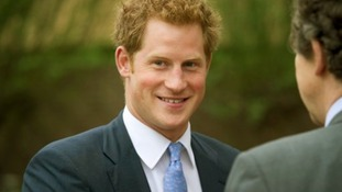 Prince Harry at Chelsea flower show