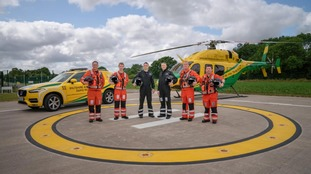 Wiltshire Air Ambulance missions in 2019 up 12 per cent on previous year