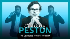 Calling Peston: Listen to the latest ITV News Politics Podcast