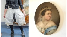 Victoria's secret - royal bloomers up for sale as part of rare royal outfit