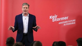 Sir Keir Starmer was the early frontrunner for the Labour leadership.