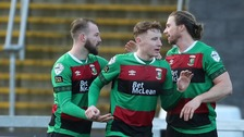 Big wins for Glentoran and Coleraine in weekend NIFL clashes