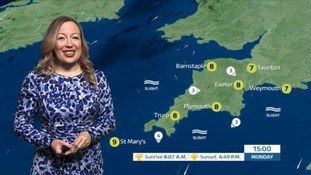 UK Weather Forecast: A cold but sunny start for the South West tomorrow