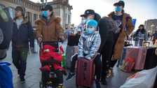 Sharp rise in number of viral pneumonia cases in China