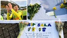 Tributes paid to Emiliano Sala on first anniversary of his death