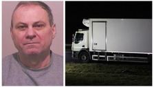 Lorry driver guilty of causing the death of a man after abruptly stopping on A19