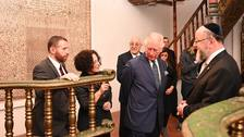 Charles laments for victims of human hatred as Israel visit begins