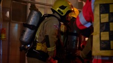 Two people hospitalised after Guernsey house fire