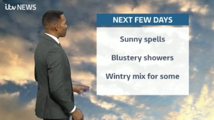 West Midlands Weather: Breezy with scattered locally heavy showers