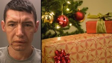 Christmas burglar jailed after homeowners chased him for opening their presents