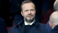 Man Utd condemn 'unwarranted attack' on Ed Woodward's home