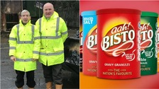 Ah Bisto! Workers rake through rubbish to find savings hidden in old gravy tins