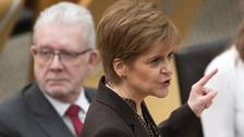 Holyrood backs Nicola Sturgeon's demand for 'necessary IndyRef2 vote