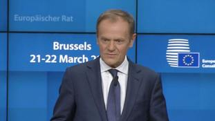 Donald Tusk: EU would 'enthusiastically' welcome independent Scotland