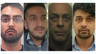 Four men jailed for 50 years for drugs conspiracy