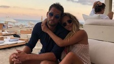 Caroline Flack's boyfriend says his 'heart is broken' in emotional post