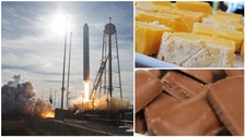 Cheese and sweets blast off to ISS to satisfy astronauts' cravings