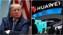Trump's new warning over Huawei impact on intelligence-sharing