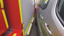 Careless parking delaying fire crews when 'every second counts'