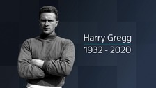 Tributes paid to United's hero goalkeeper Harry Gregg