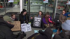 Seven arrested as Extinction Rebellion protesters target energy research institute
