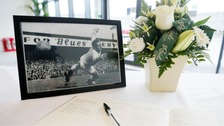 Books of condolence open for United hero Harry Gregg