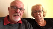 Northamptonshire cruise ship couple still waiting to get hospital treatment