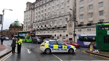 Bomb squad in Leeds town centre after suspicious package found