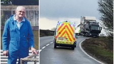 On-trial trucker cried out in 'fear' before fatal A66 crash, jury told