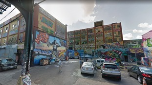 The 5Pointz building as it appeared in 2013.
