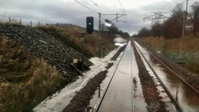 Rail users warned to check before travelling due to bad weather