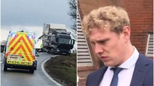 "On-trial trucker involved in fatal A66 crash tells jury: ""I wasn't asleep"""