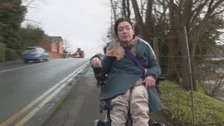 Disabled commuter's fight for better accessibility on trains